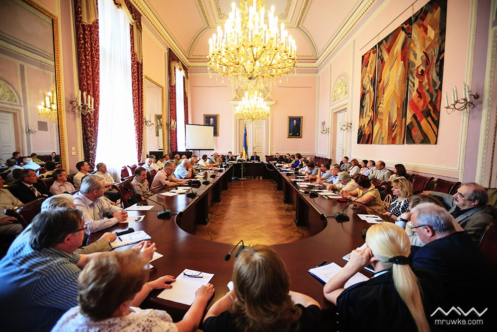 Засідання Ректорату
