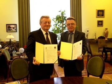 Підписано угоду про співпрацю Львівського університету з AGH Науково-технічним університетом Республіки Польща