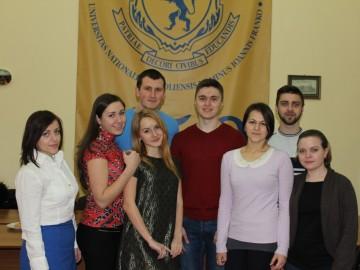 Представники Студентського парламенту Чернівецького національного університету імені Юрія Федьковича зустрілися з львівськими колегами