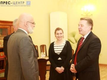 Зустріч із професором Варшавського університету економіки