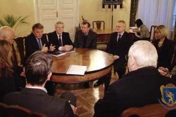 Зустріч Ректора Львівського університету з делегацією депутатів німецького парламенту