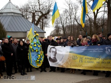 Представники Університету вшанували пам'ять о. Михайла Вербицького