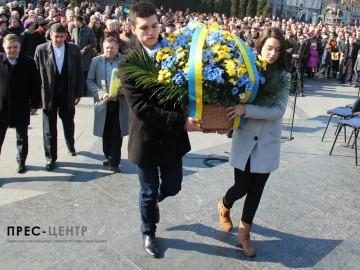 Представники Університету взяли участь у заходах з нагоди 201-ої річниці від дня народження Тараса Шевченка