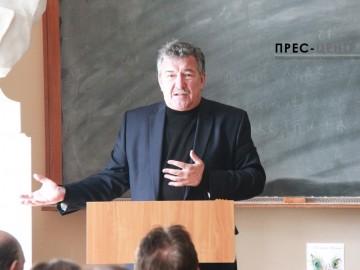 Зустріч із літературознавцем Володимиром Моренцем
