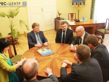 Візит делегації Вільнюського університету