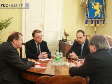 Представники Львівського та Вюрцбурзького університету обговорили питання поглиблення академічної співпраці