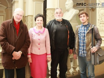 Візит делегації з Франції  до Львівського університету