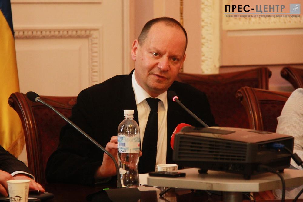 Лекція Філіпа Сендса «Крим і міжнародне право»