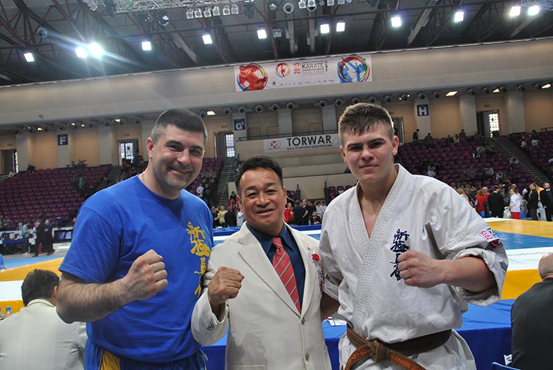 Студент факультету іноземних мов Юрій Крюков – срібний призер Чемпіонату Європи з кіокушинкай карате