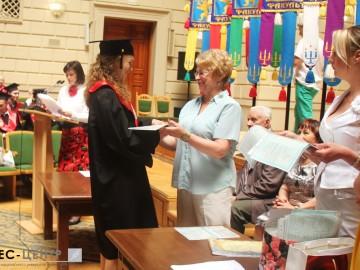 Випускники філософського факультету отримали дипломи
