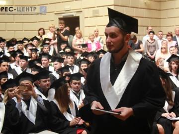 Урочистості з нагоди вручення дипломів випускникам юридичного факультету