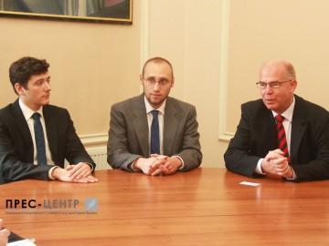 Зустріч із делегацією Вюрцбурзького університету Юліуса Максиміліана