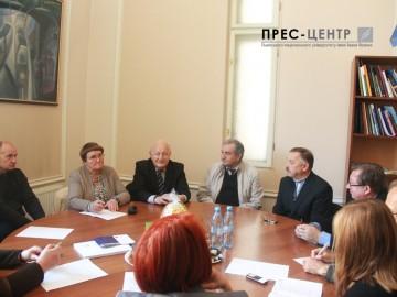Візит делегації  Шауляйського університету