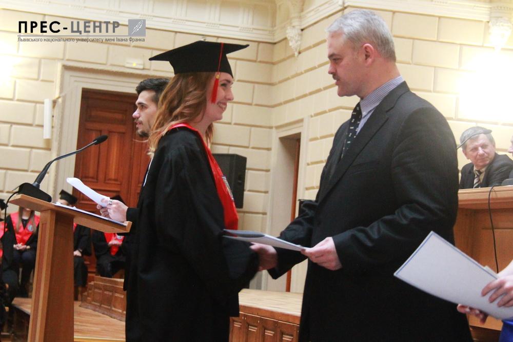 Понад  300 магістрів економічного факультету стали дипломованими фахівцями
