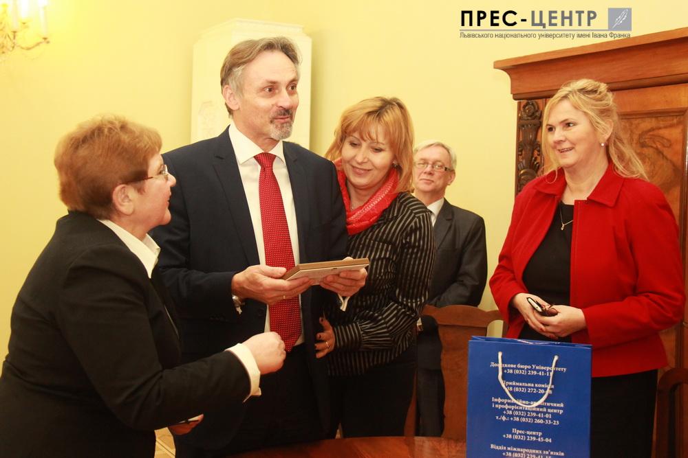 Rector Volodymyr Melnyk meet Ivan Počuch Ambassador Extraordinary and Plenipotentiary of the Czech Republic in Ukraine