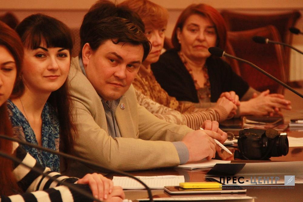 Представники Львівського університету поділились  із донецькими й луганськими колегами  досвідом впровадження освітніх інновацій і стратегією входження в європейський освітній простір