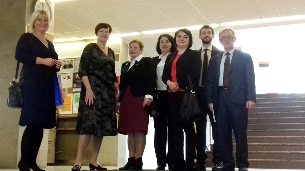 Візит делегації Університету до Тартуського університету (Естонська Республіка)