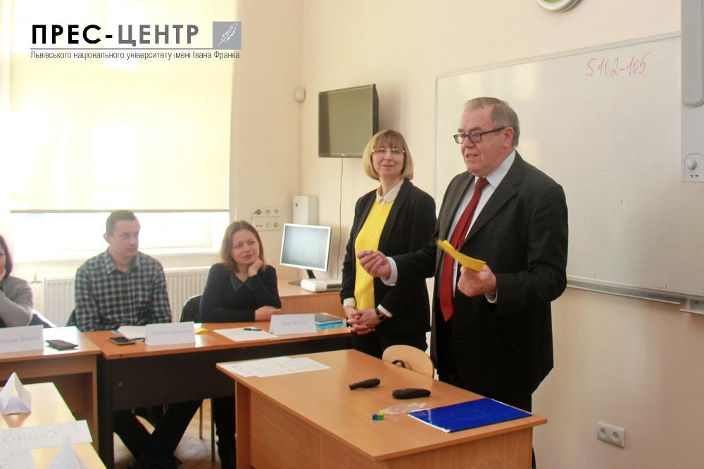 Понад 25 молодих учителів німецької мови з 14 областей України поглиблюють знання та вдосконалюють педагогічну майстерність у Львівському університеті