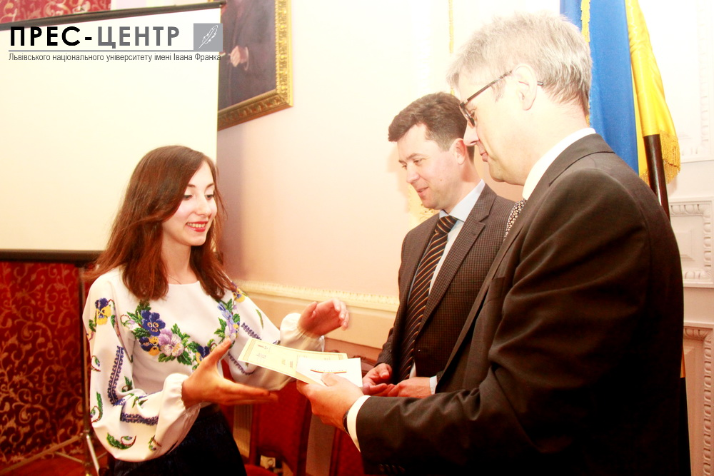 Seven law students of Lviv University awarded international certificates for attending German Law Course