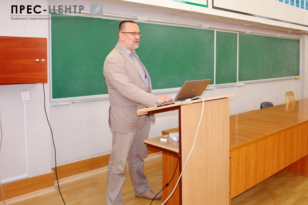 The Professor of University of Miskolc, corresponding member of the Hungarian Academy of Sciences Gyorgy Kaptay delivered lectures on the Materials Science to students of the University