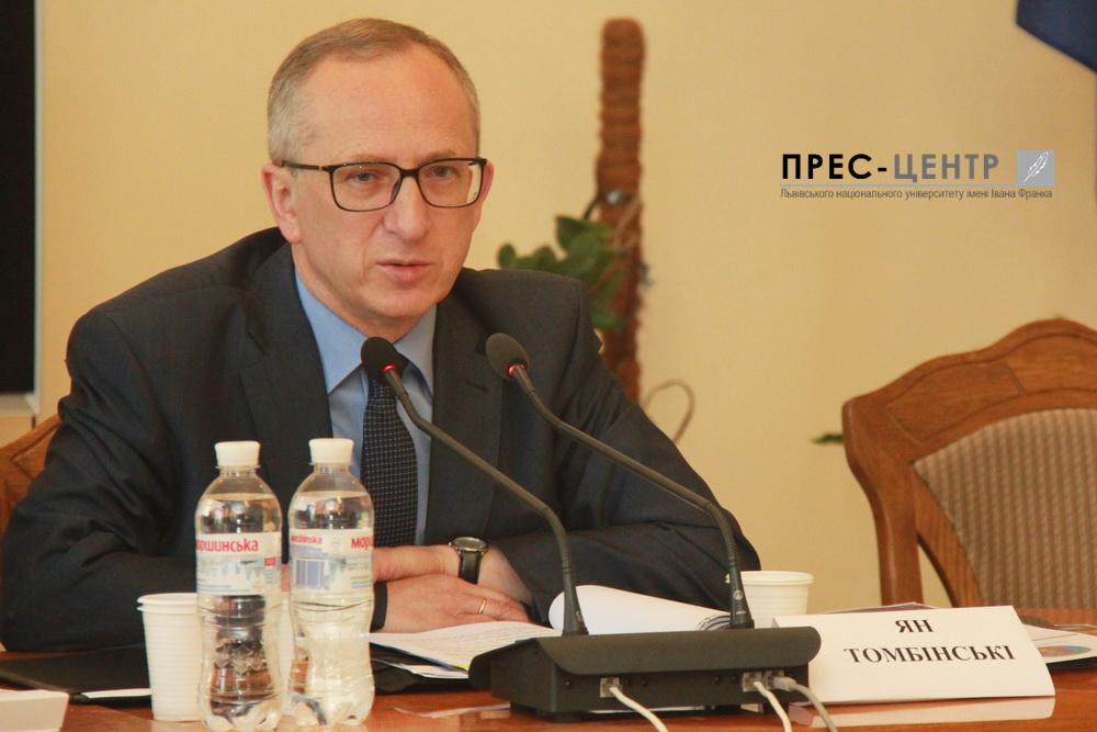 Голова Представництва ЄС в Україні Ян Томбінські: «Імітація політики завжди закінчується катастрофою»
