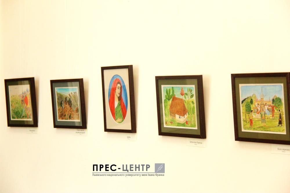 В Університеті  відкрили виставку художніх робіт сина Івана Франка – Тараса Франка