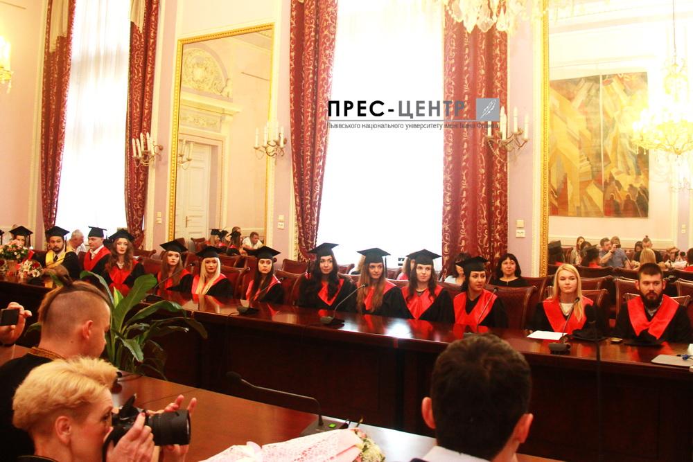 Випускники факультету міжнародних відносин здобули кваліфікацію «магістр» за спеціальністю «міжнародне право»