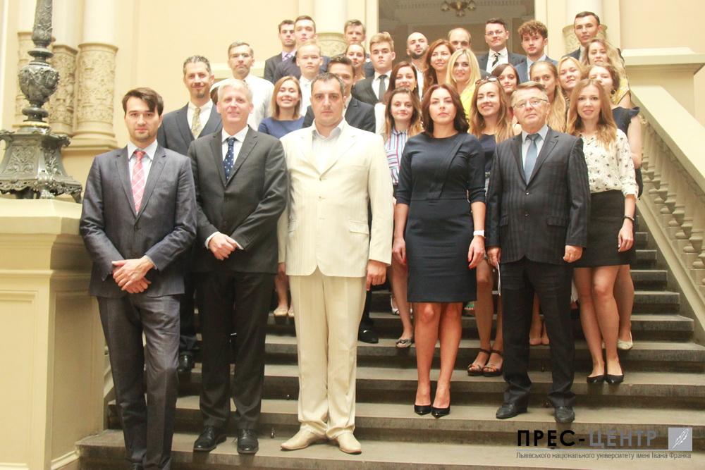 Вперше у Львівському університеті стартувала  Міжнародна Академія Лідерства