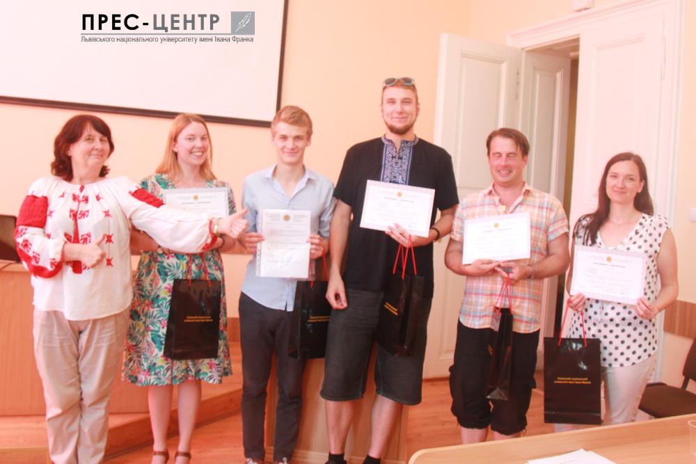 Представники 11 країн світу завершили навчання у Міжнародній літній школі «Українська мова і країнознавство»