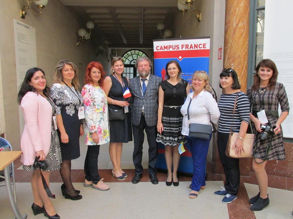Старший викладач географічного факультету Юрій Зінько взяв участь у Campus France Day