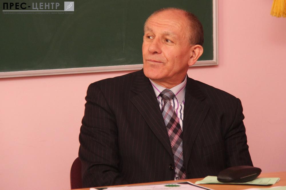 Професор Степан Панчишин удостоєний почесного звання  «Заслужений працівник освіти України»