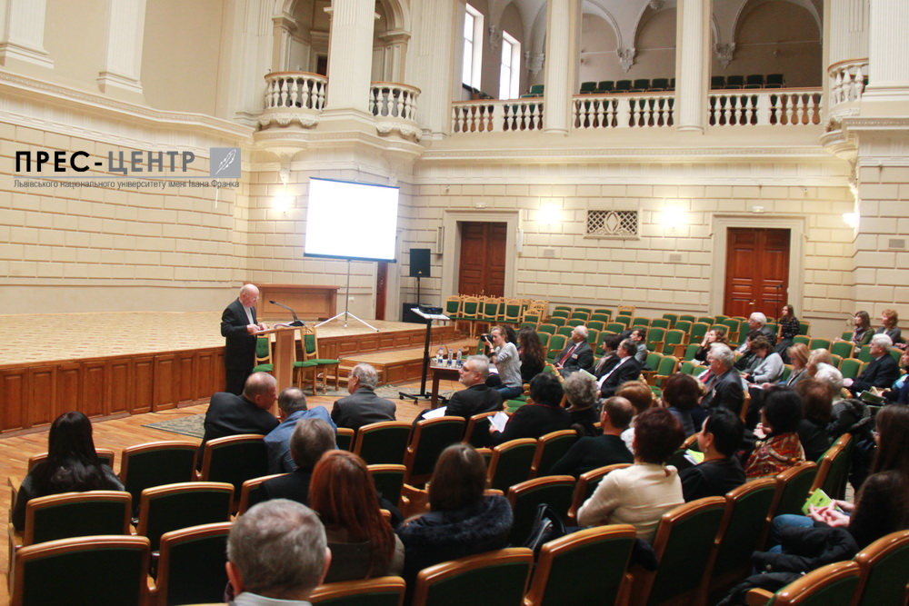 Scientists from around the world discuss actual problems of modern biochemistry at Lviv University