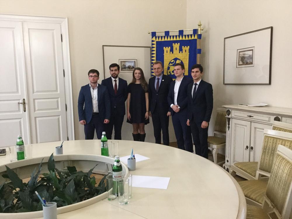 Студент факультету міжнародних відносин Руслан Сагановський став студентським мером Львова та радником міського голови