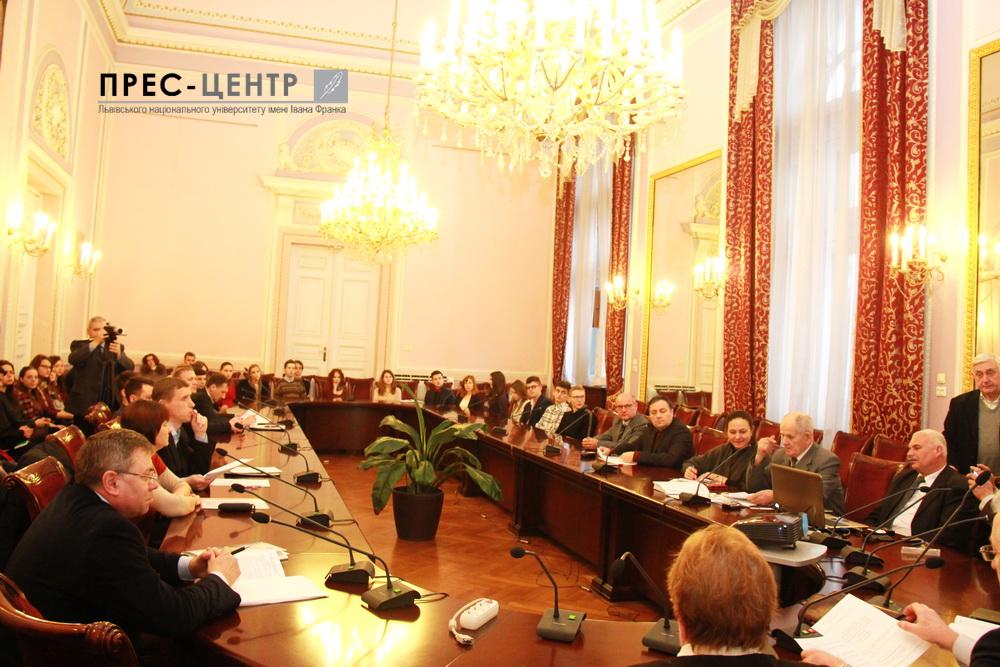 В Університеті обговорили досвід національно-визвольних рухів України та Угорщини