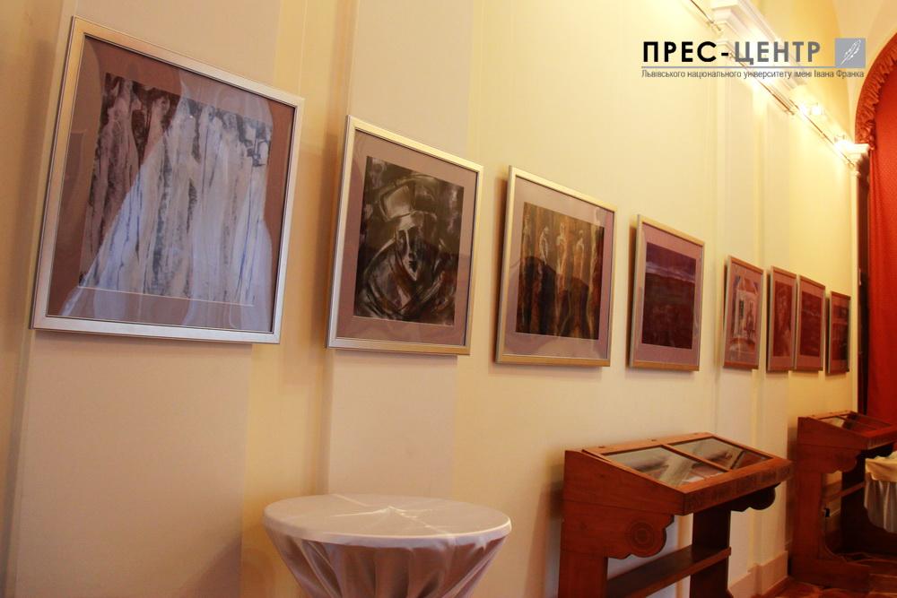 У Львівському університеті відкрили виставку картин закарпатського  художника Петера Матла