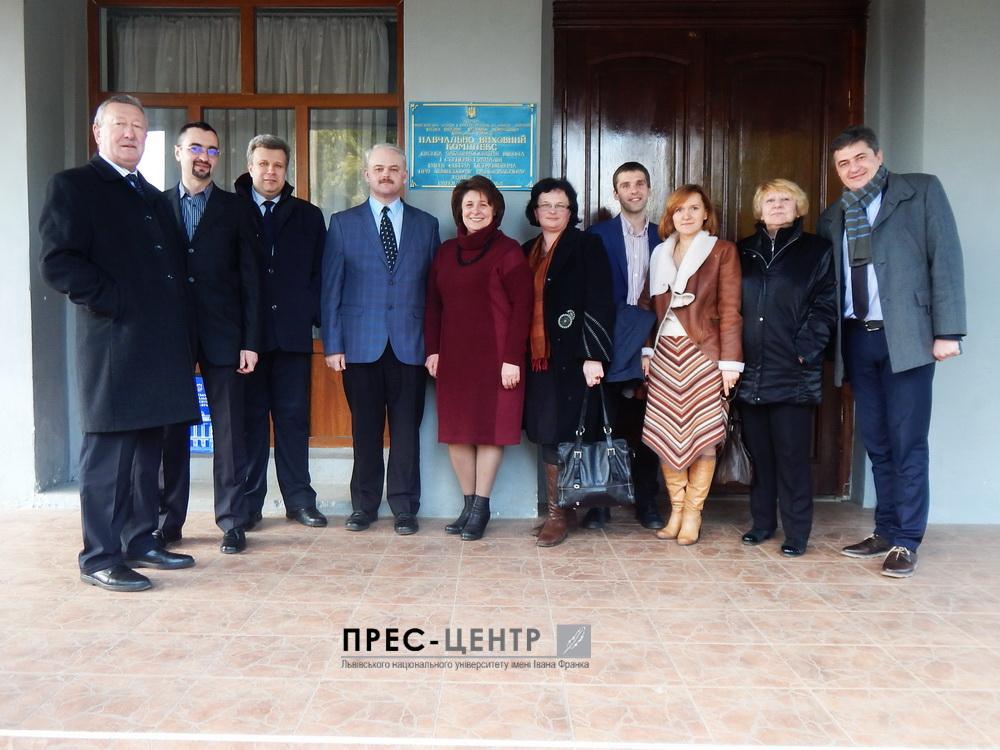 Представники Університету відвідали Буську гімназію імені Євгена Петрушевича