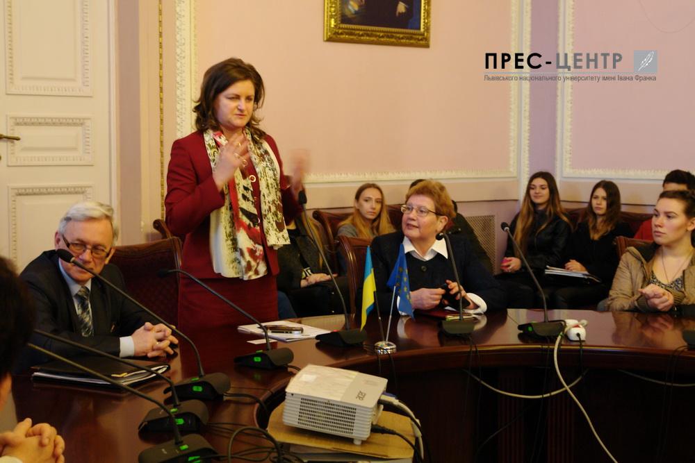 Генеральний консул Румунії Елеонора Молдован зустрілася зі студентами Університету