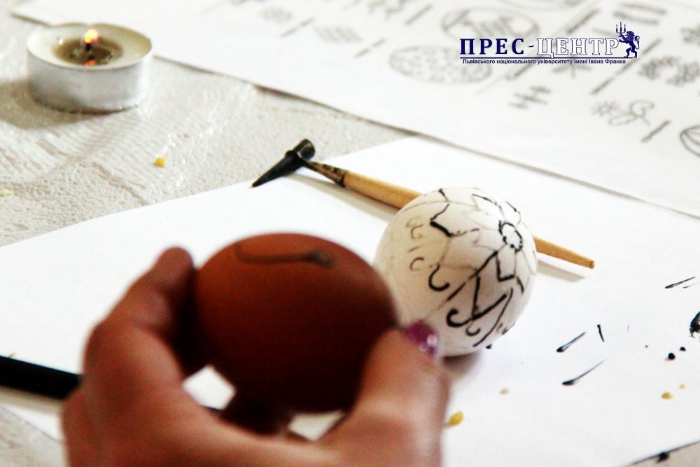 Традиційне писанкування на філологічному факультеті