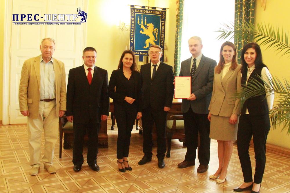 Львівський університет започаткував співпрацю з міжнародною Асоціацією присяжних сертифікованих бухгалтерів (АССА)