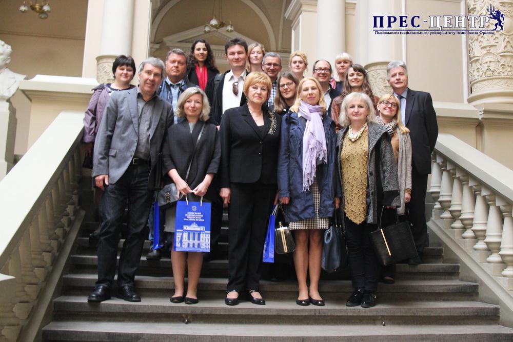 Робоча зустріч учасників міжнародного проекту Еразмус +