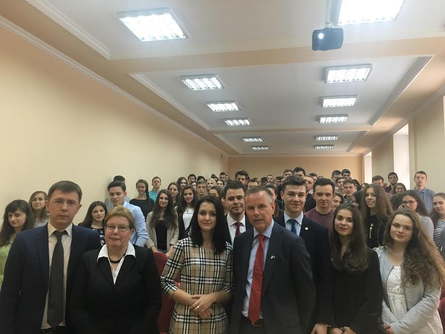 Університет відвідав Надзвичайний і Повноважний Посол Норвегії в Україні