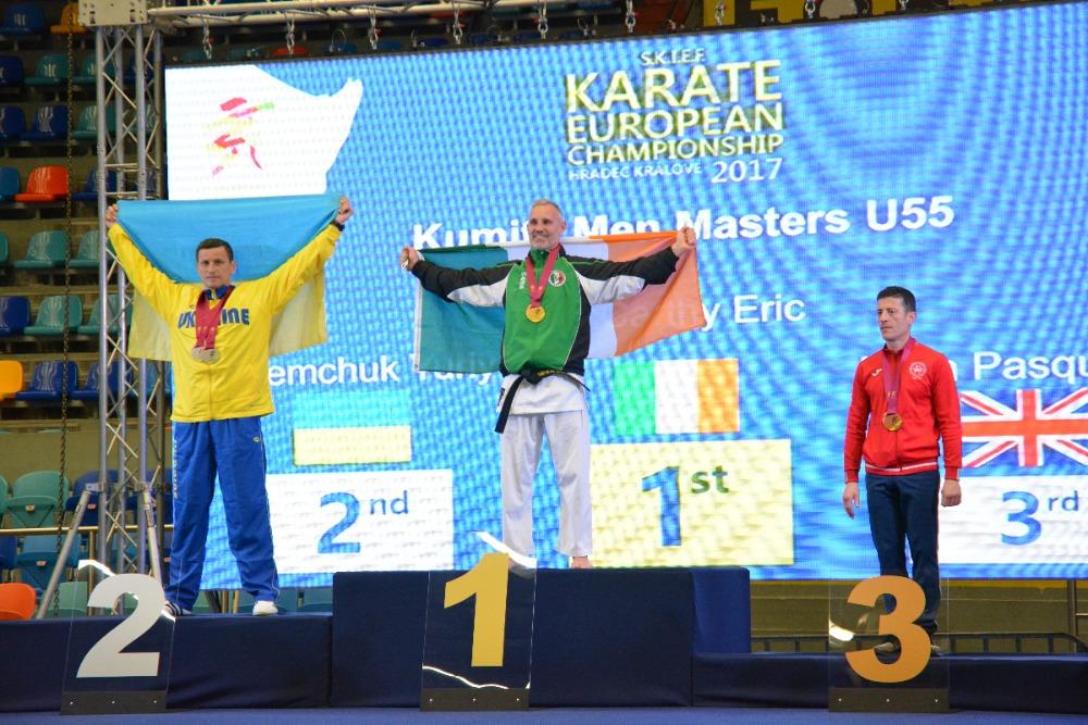 Викладач Університету – призер Чемпіонату Європи із шотокан карате-до