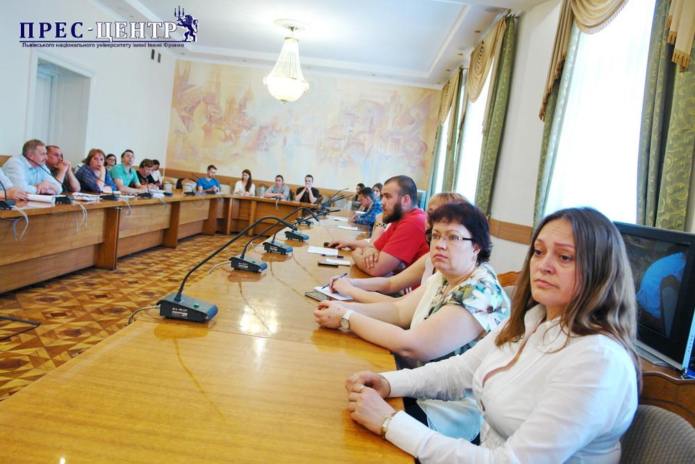 В Університеті відбувся круглий стіл «Об'єднана територіальна громада – новий працедавець на ринку праці»