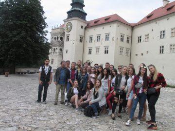 Завершилась практика студентів географічного факультету в Ойцовському національному парку