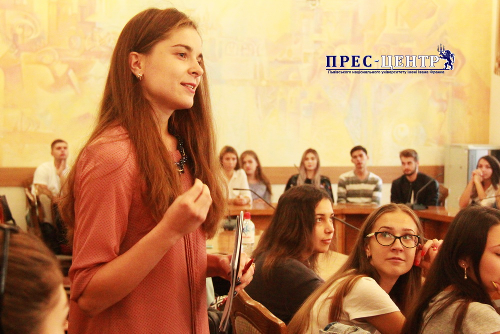 STUDENTS OF THE FACULTY OF INTERNATIONAL RELATIONS MET WITH REPRESENTATIVES OF THE OSCE SPECIAL MONITORING MISSION IN UKRAINE