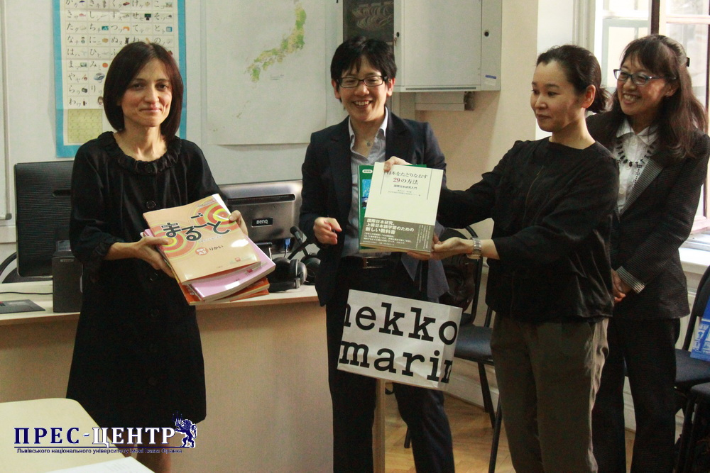 A REPRESENTATION OF THE TOKYO UNIVERSITY OF FOREIGN STUDIES WAS OPENED AT LVIV UNIVERSITY
