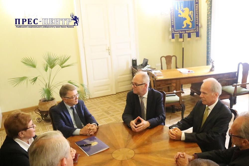 Гданський університет ініціює інтенсифікацію співпраці з ЛНУ ім. Івана Франка