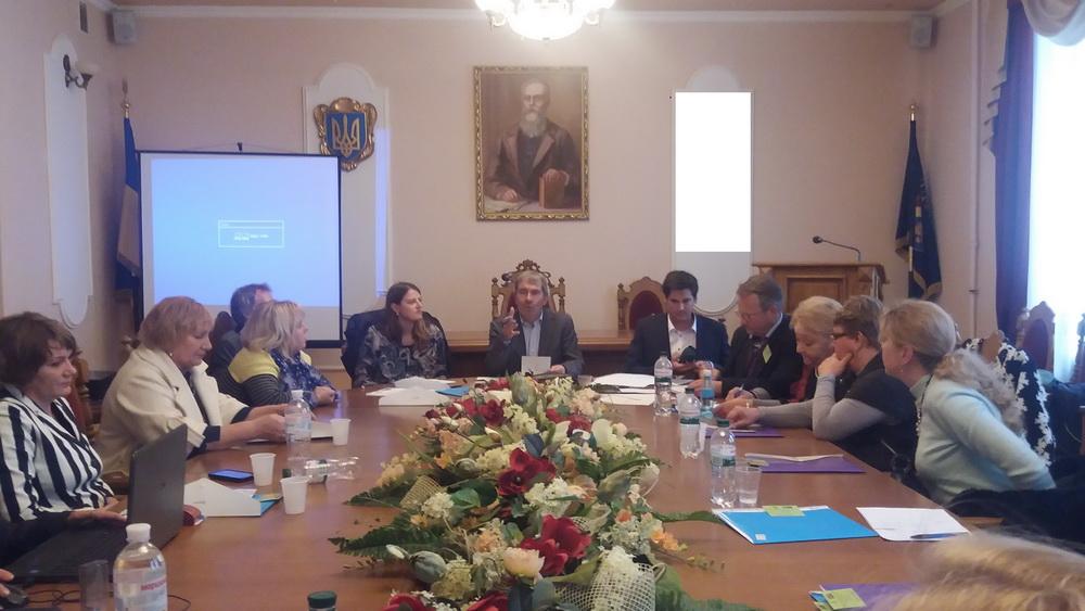 WORKSHOP FOR TEACHERS OF UKRAINIAN HIGHER EDUCATIONAL ESTABLISHMENTS HELD UNDER ERASMUS + PROJECT