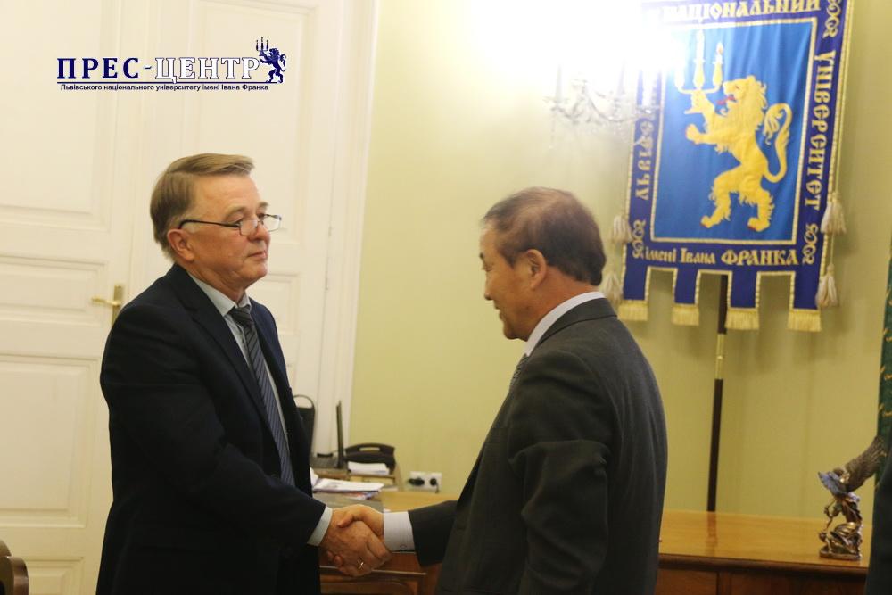 EMBASSY OF REPUBLIC OF KOREA IN UKRAINE INITIATES COOPERATION WITH LVIV UNIVERSITY