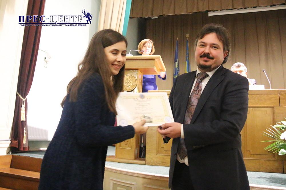 Науковці Університету отримали премії Львівської обласної державної адміністрації та Львівської обласної ради